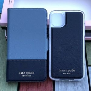 Kate Spade Spencer iphone 11 magnetic Folio Case